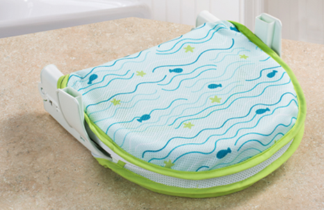Folding Bath Sling with Warming Wings