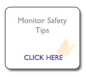 Monitor safety tips